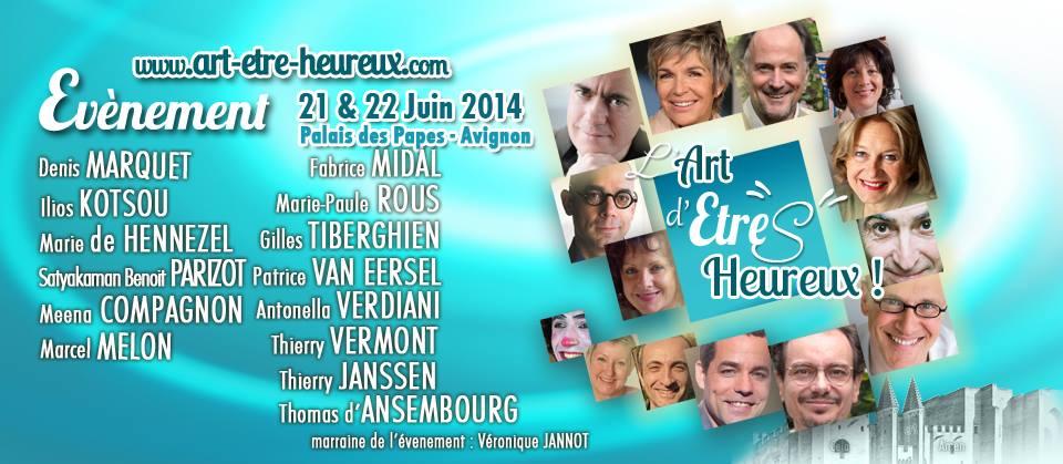 Congrès Art d'Êtres Heureux en Avignon